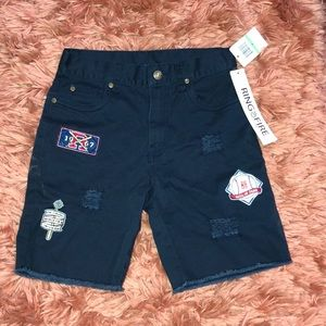 Boys NWT ring of fire shorts